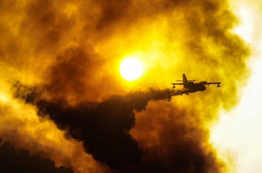 Εκρηκτική η κατάσταση σε Εύβοια και Αρχαία Ολυμπία – Έρχονται  αεροπλάνα από Σουηδία και πυροσβέστες από την Γαλλία
