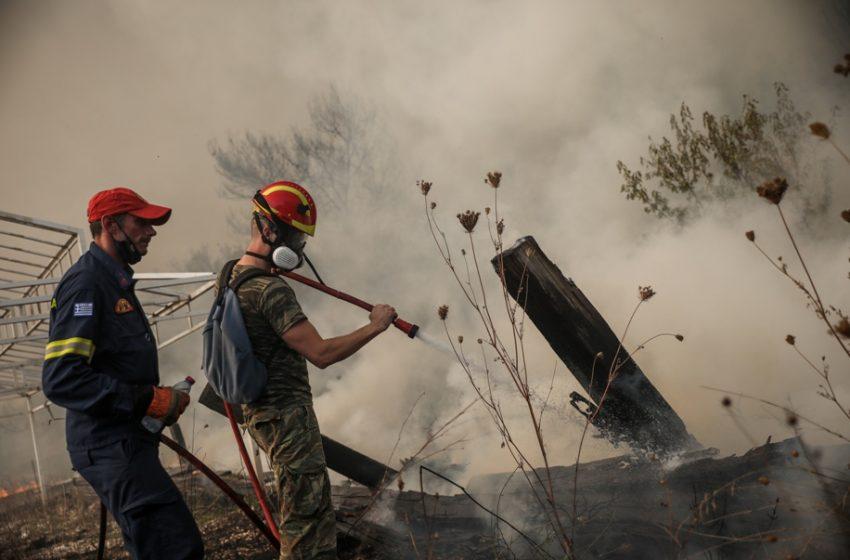Χαρδαλιάς: Ελπίζουμε να οριοθετήσουμε τη φωτιά στην Αττική μέσα στις επόμενες ώρες