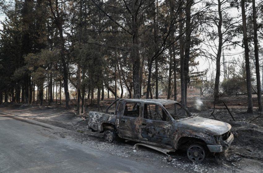 Τι ένταση είχαν οι άνεμοι που έπνεαν στην Βαρυμπόμπη – Πως η πυρκαγιά δημιούργησε τον δικό της καιρό