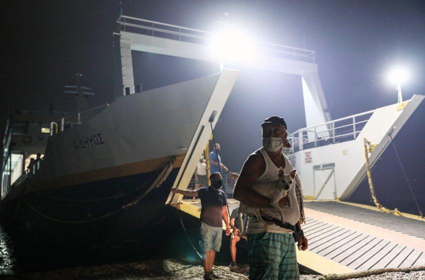 Καταγγελία: Πλήρωναν εισιτήριο για να εγκαταλείψουν την Εύβοια- Η απάντηση του υπ.Ναυτιλίας