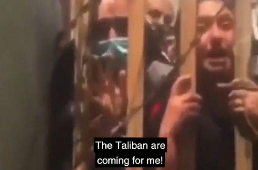 Γυναίκες πίσω από τα κάγκελα εκλιπαρούν για βοήθεια -Νέο βίντεο σοκ από το Αφγανιστάν (vid)