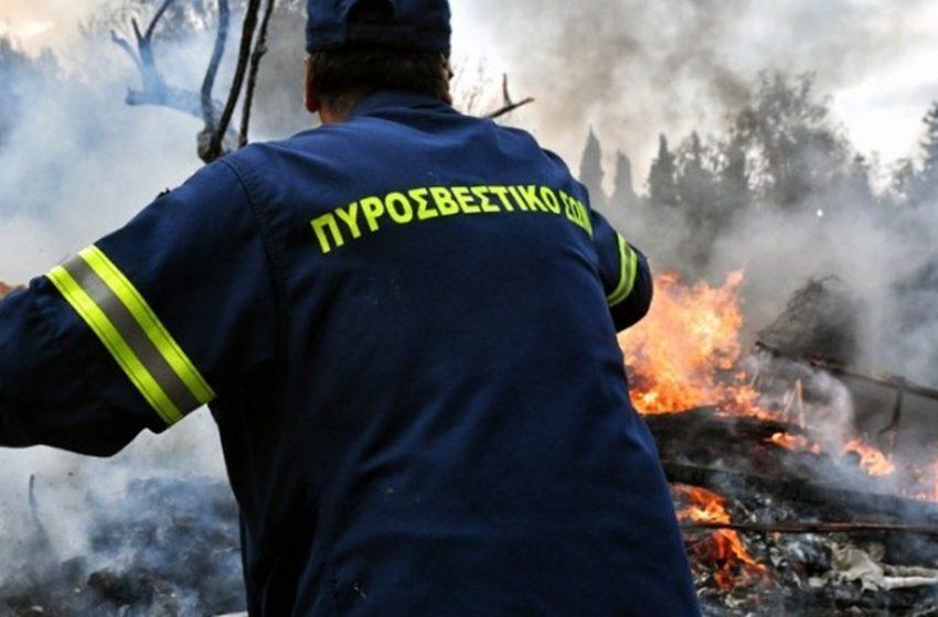 Τραυματίστηκε πυροσβέστης στην Πάρνηθα