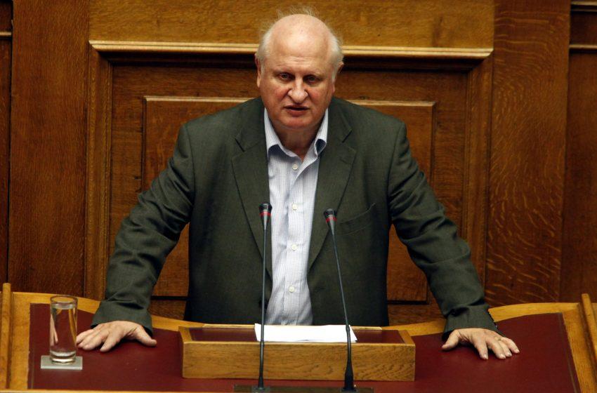 Πέθανε ο πρώην βουλευτής του ΚΚΕ Αντώνης Σκυλλάκος