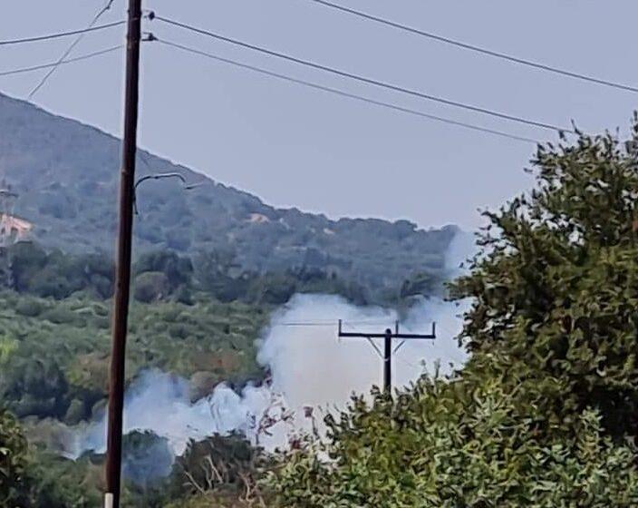 Μεσσηνία: Νέα φωτιά κοντά σε οικισμό