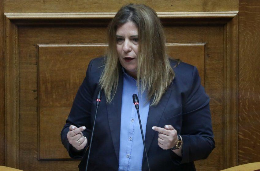Την απομάκρυνση της Μαρίας Συρεγγέλα ζητεί ο ΣΥΡΙΖΑ