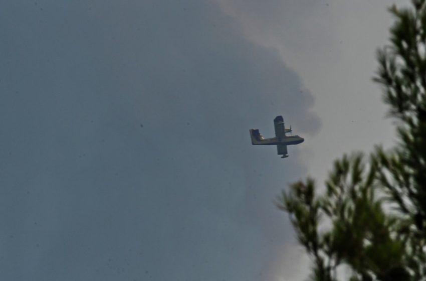 """Φωτιά στη Βαρυμπόμπη: Νέο μήνυμα από το 112 για τη Δροσοπηγή – """"Εκκενώστε τώρα"""""""