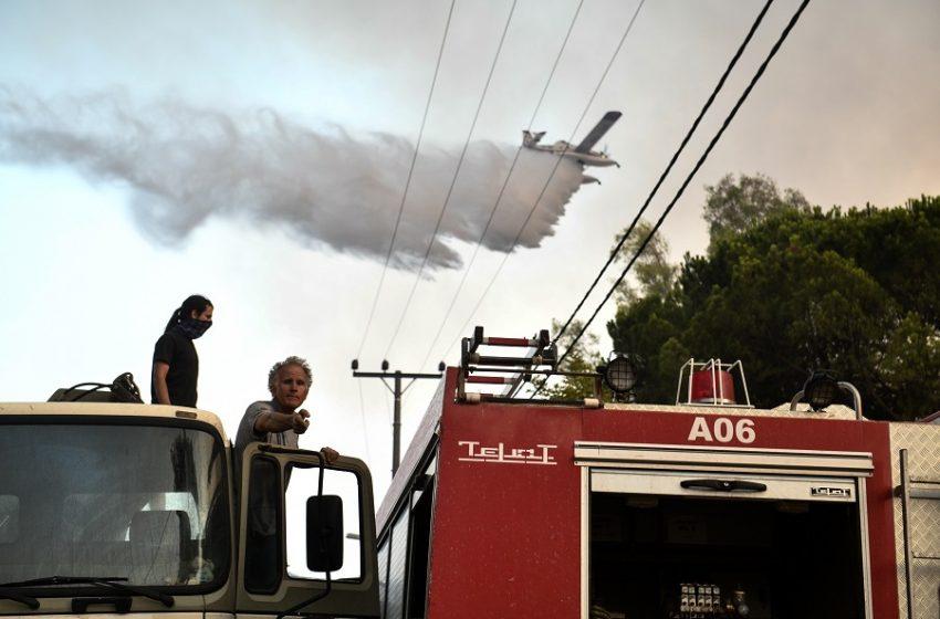 Δύο πυροσβεστικά αεροσκάφη στέλνει η Τουρκία στην Ελλάδα