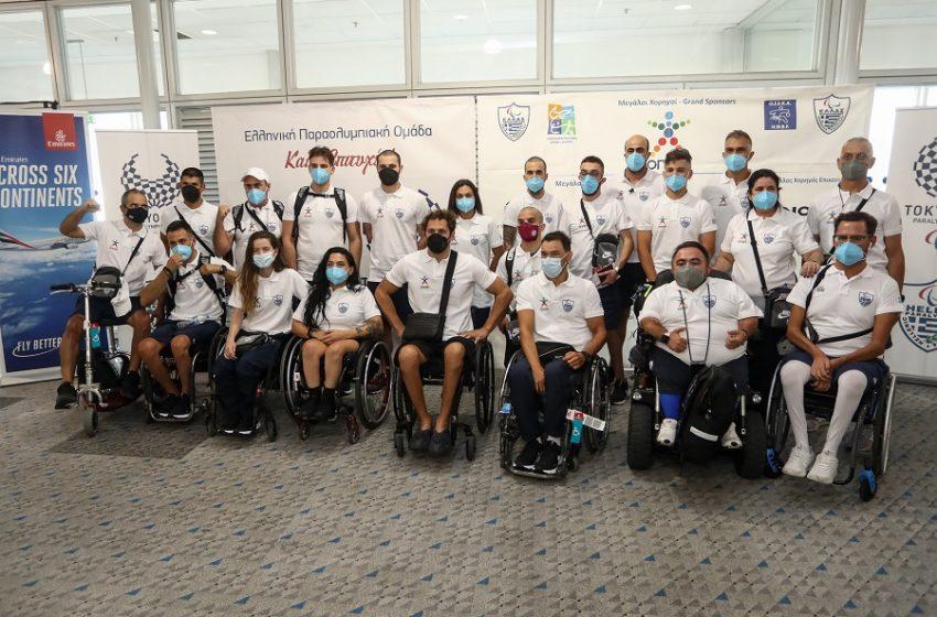Καλή επιτυχία από τον ΟΠΑΠ στους Έλληνες αθλητές των Παραολυμπιακών Αγώνων του Τόκιο – 46 αθλητές και αθλήτριες σε 11 αθλήματα