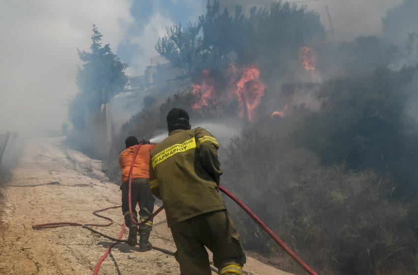 Πολύ υψηλός κίνδυνος πυρκαγιάς για την Πέμπτη σε 4 περιοχές