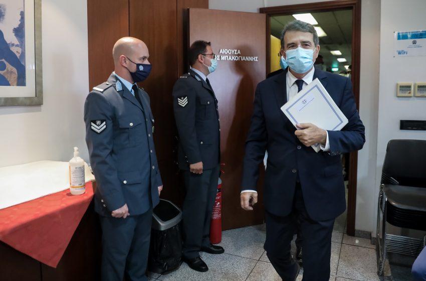 Χρυσοχοΐδης: Αποχωρώ από το υπουργείο και όχι από το δημόσιο βίο