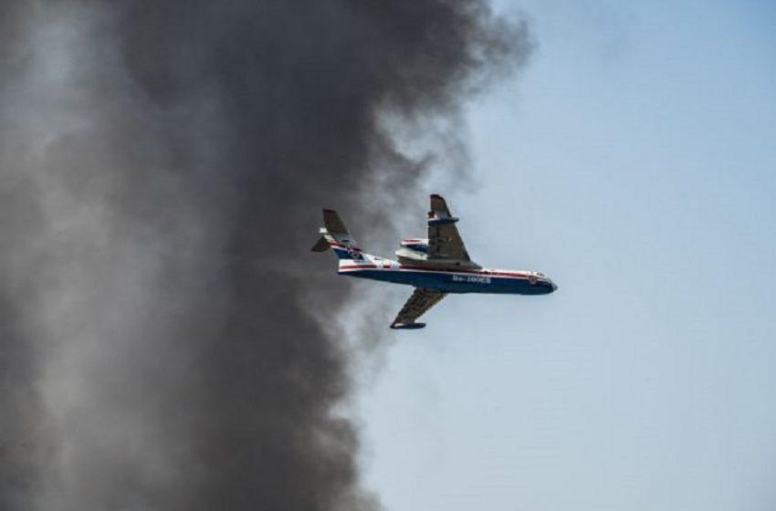 Πυρκαγιά στη Μεσσηνία – Μήνυμα του 112 για εκκένωση περιοχών