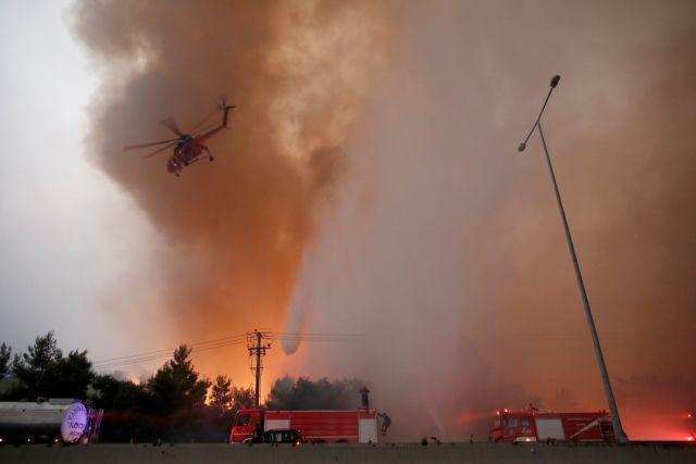 """Εύβοια: """"Μαζέψτε τους Ρουμάνους πυροσβέστες γιατί θα τα σβήσουν όλα"""" – Απίστευτη καταγγελία στο MEGA"""