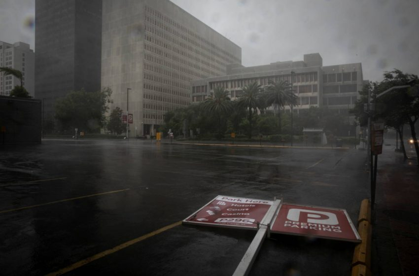 Τυφώνας Άιντα: Σαρωτικό πέρασμα από τη Λουιζιάνα