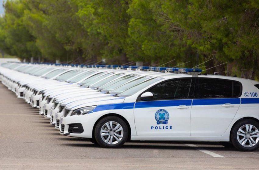 Ακόμη 76 οχήματα στον στόλο της Ελληνικής Αστυνομίας