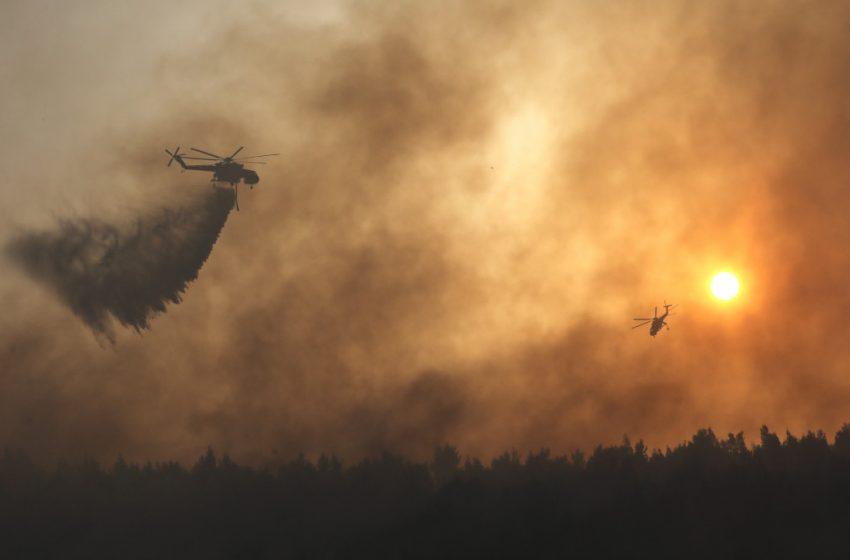 Μεσσηνία: Μήνυμα του 112 για εκκένωση των οικισμών Μοναστηράκι και Άγιοι Θεόδωροι