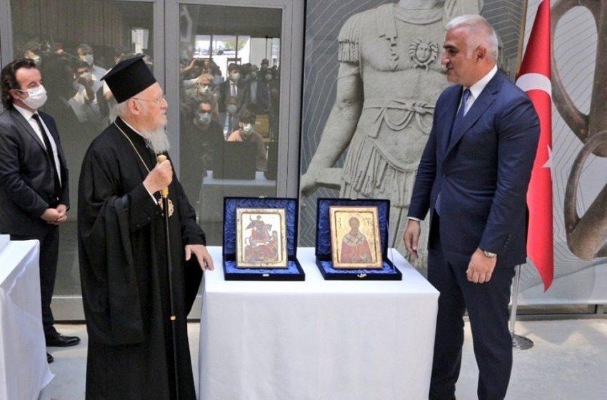 Επιστροφή κλεμμένων εικόνων μεγάλης ιστορικής αξίας στο Πατριαρχείο