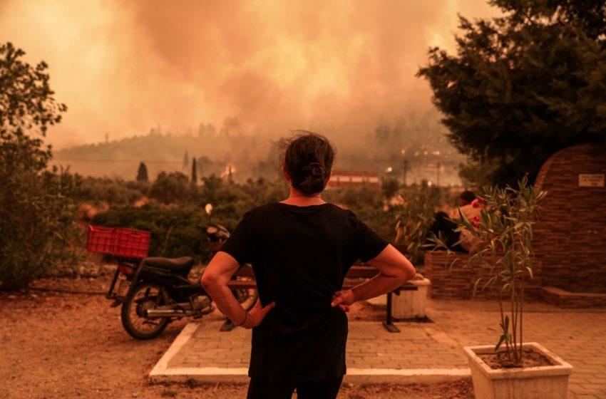 Εύβοια: Ένα μήνα μετά drone καταγράφει την καταστροφή (vid)