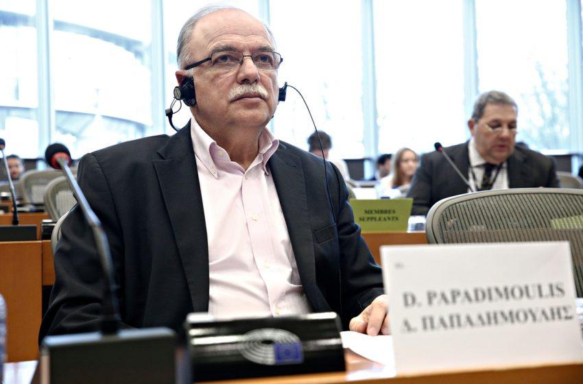 """Παπαδημούλης: Ανάγκη τροποποίησης του """"Ελλάδα 2.0"""" για την αντιμετώπιση των συνεπειών από τις φωτιές"""