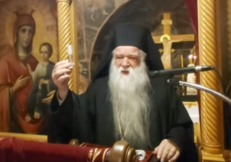 """Νέο επεισόδιο σε εκκλησία με τον Αμβρόσιο: """"Ο αγιασμός το φάρμακο για τον κοροναϊό"""" – Σφοδρές αντιδράσεις"""