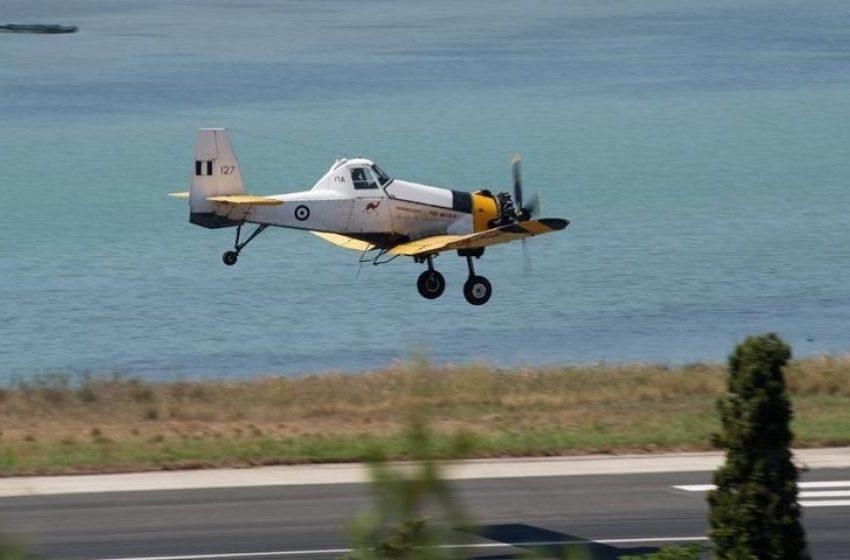 Έπεσε πυροσβεστικό αεροσκάφος που επιχειρούσε στη Ζάκυνθο – Σώος ο πιλότος