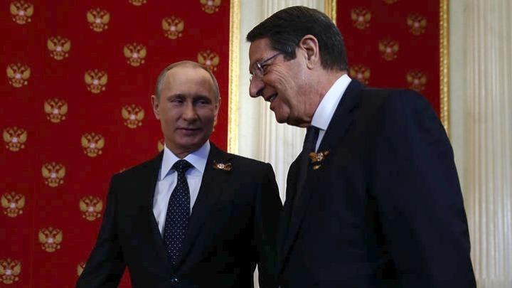 Πούτιν σε Αναστασιάδη: Απαράδεκτες οι μονομερείς ενέργειες για την Αμμόχωστο