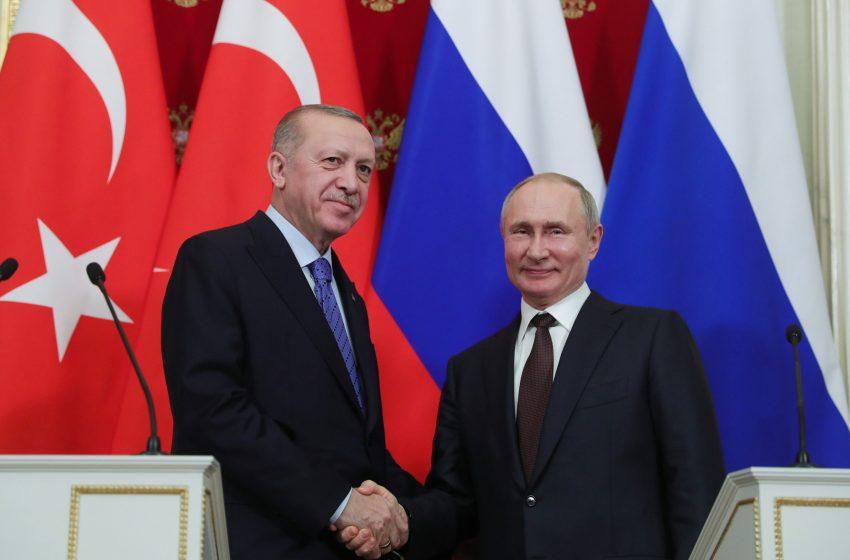 Επικοινωνία Πούτιν – Ερντογάν για το Αφγανιστάν