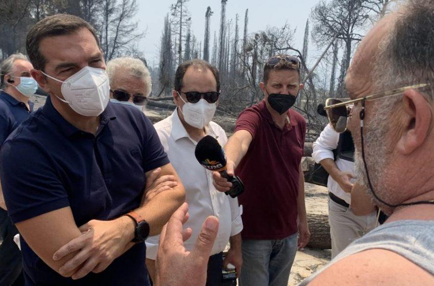 Τσίπρας: Μην προκαλούν με δηλώσεις αυτοθαυμασμού πάνω στα ερείπια