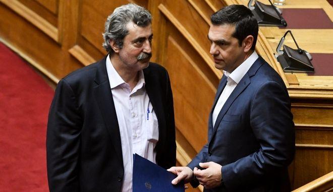 Πολιτικό κέντρο ΣΥΡΙΖΑ-ΠΣ/ Καθαρά υπέρ των εμβολιασμών ο Τσίπρας- Συναίνεση και από Πολάκη