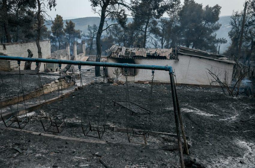 Προς τα Μέγαρα κινείται ανεξέλεγκτη η φωτιά στην Αττική – Έκαψε σπίτια και αποθήκες στο τόξο Οινόη, Καραούλι, Άγιος Γεώργιος, Παλαιοχώρι, ΤΙΤΑΝ