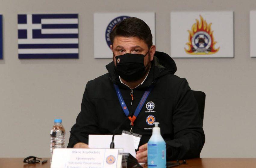 Χαρδαλιάς: Η μάχη συνεχίζεται – Δύσκολη η κατάσταση στην Β. Εύβοια