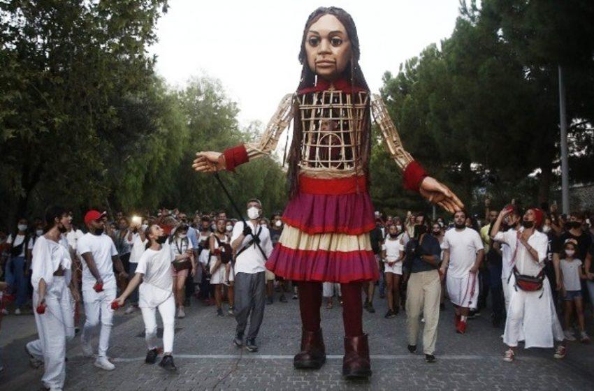 """Η Αμάλ στην Αθήνα με το """"Άσμα Ασμάτων""""  του Μίκη Θεοδωράκη (vid)"""