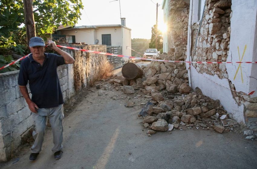 """Μαρτυρία: """"Κάθε 15 λεπτά γίνεται σεισμός"""""""