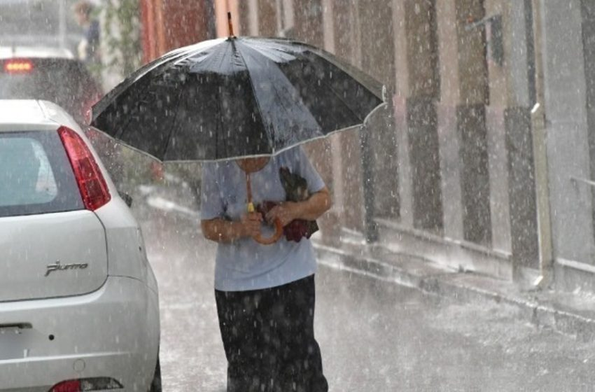 Εκτακτο δελτίο επιδείνωσης καιρού από την ΕΜΥ: Βροχές, καταιγίδες και χαλάζι από την Κυριακή – Αναλυτικά η πρόγνωση