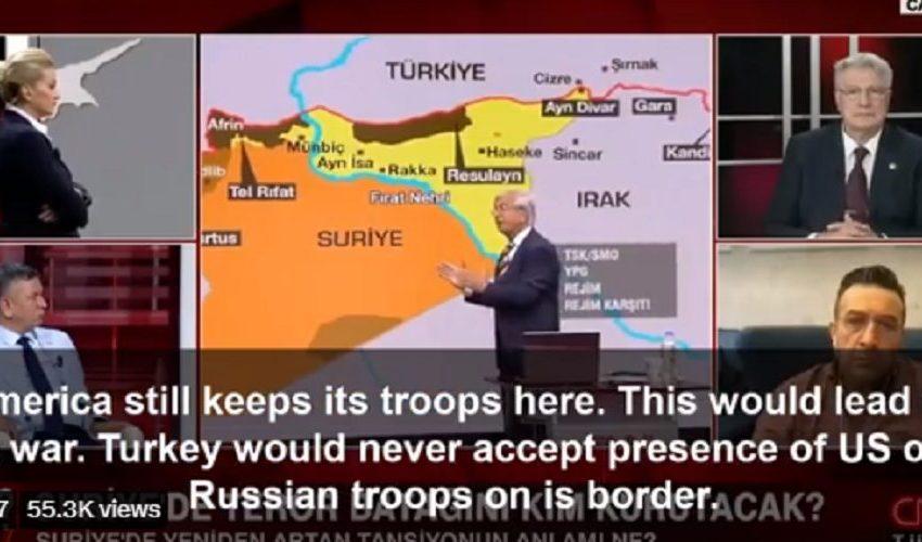 Σύμβουλος του Ερντογάν προβλέπει πόλεμο Τουρκίας – ΗΠΑ στη Σύρια!