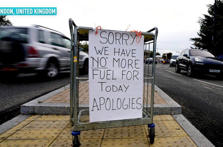 Βρετανία: Χάος έξω από πρατήρια καυσίμων στο Λονδίνο