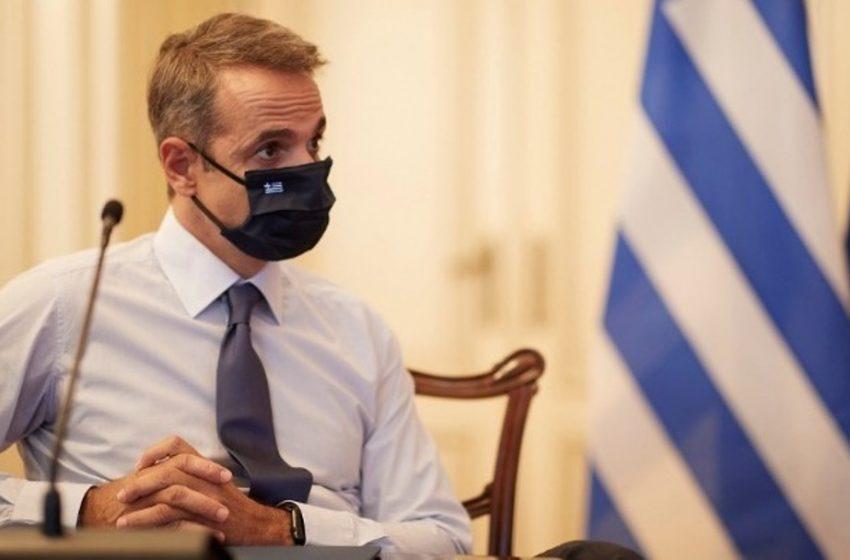 Στην Θεσσαλονίκη εν μέσω συγκεντρώσεων ο Μητσοτάκης
