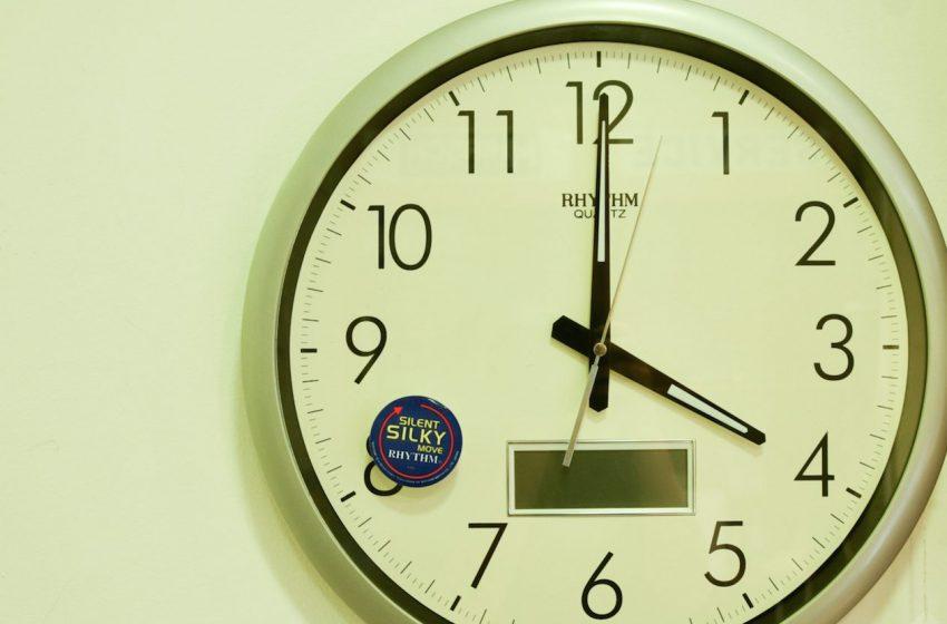 Αλλαγή της ώρας – Πότε γυρίζουμε τα ρολόγια μας;