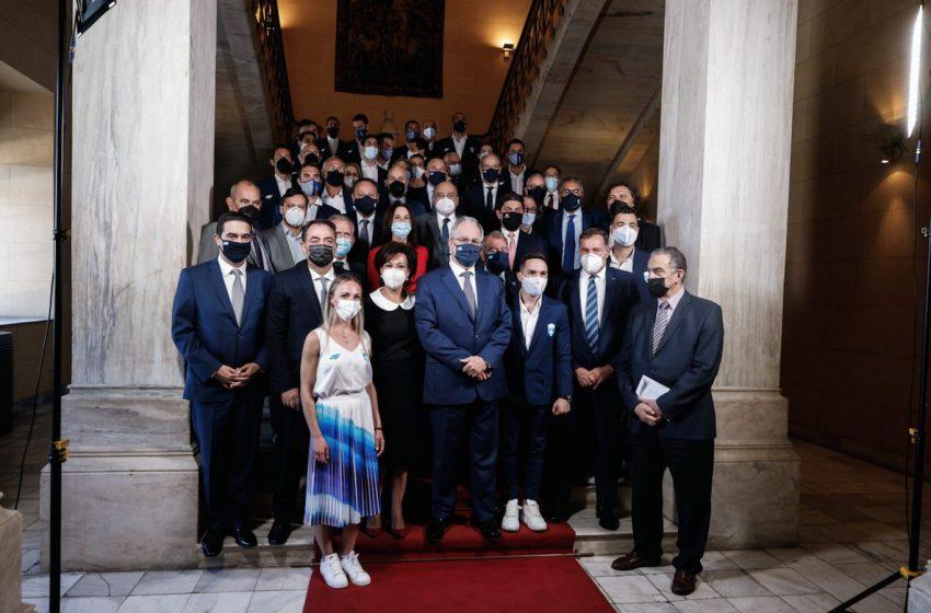 Η Βουλή τίμησε τους Έλληνες Ολυμπιονίκες του Τόκιο