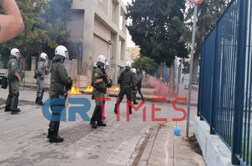 Θεσσαλονίκη: Νέα επεισόδια στο ΕΠΑΛ Σταυρούπολης – Έκρυθμη η κατάσταση