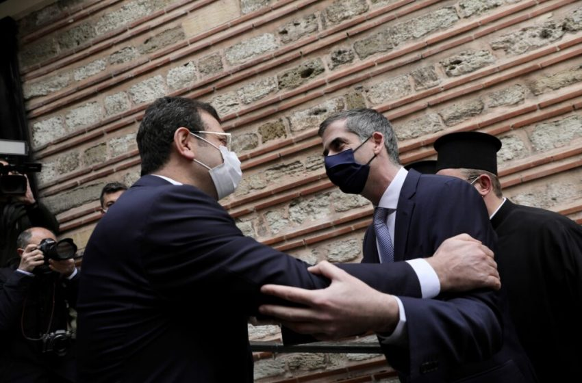 Διήμερη επίσκεψη Ιμάμογλου στην Αθήνα