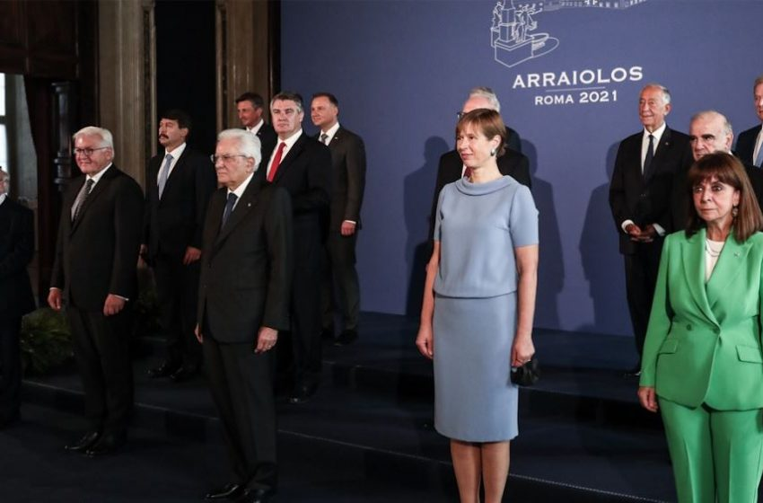 Στη Ρώμη η Σακελλαροπούλου, συνάντηση με Ματαρέλα: Η ΕΕ να διατηρήσει τον παγκόσμιο ηγετικό της ρόλο