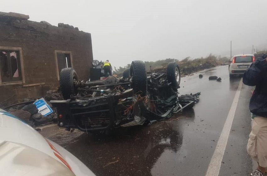 Ιταλία: Δύο νεκροί και εννέα τραυματίες από ανεμοστρόβιλο