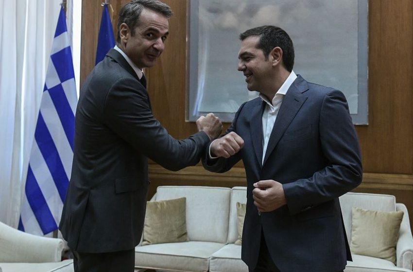 """Δημοσκόπηση Pulse: Διψήφια διαφορά ΝΔ-ΣΥΡΙΖΑ-Κλείσιμο της """"ψαλίδας"""""""