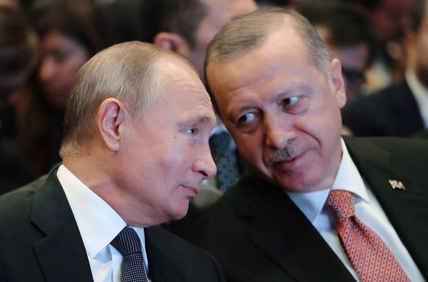 Στο Σότσι ο Ερντογάν την Τετάρτη για συνομιλίες με τον Βλαντιμίρ Πούτιν