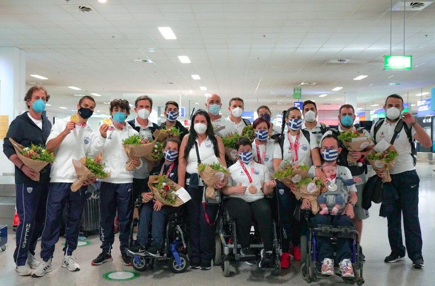 Με 11 μετάλλια επέστρεψε η Ελληνική Παραολυμπιακή Ομάδα από το Τόκιο – Συγχαρητήρια από τον ΟΠΑΠ στους 44 αθλητές που αγωνίστηκαν σε 11 αθλήματα