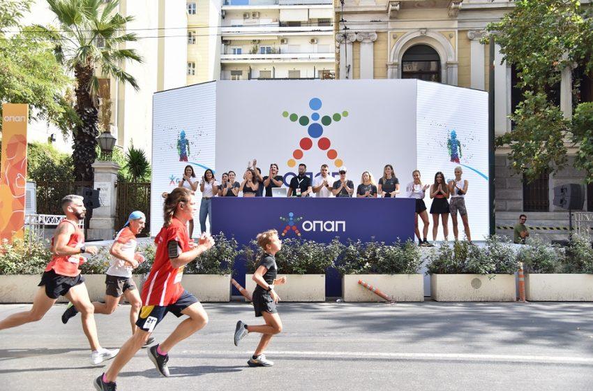 Ο Ημιμαραθώνιος της Αθήνας επέστρεψε με χορηγό τον ΟΠΑΠ 2