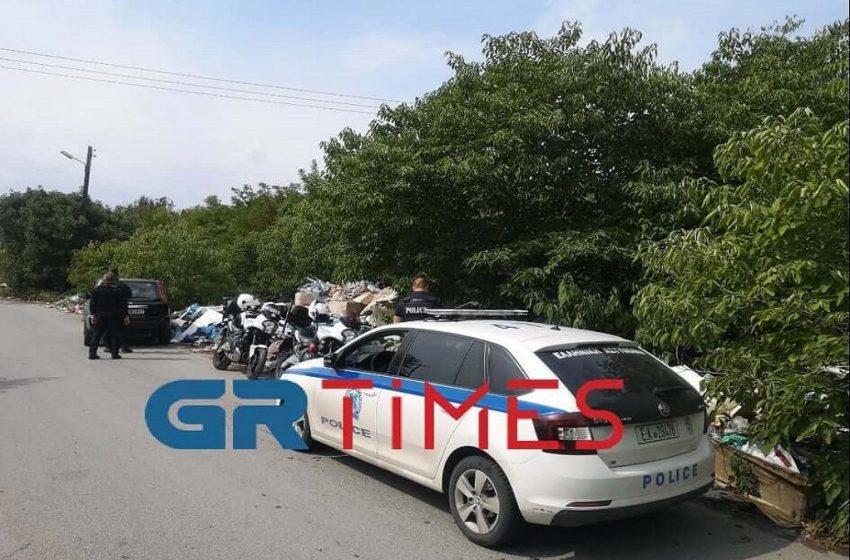 Θεσσαλονίκη: Θρίλερ με πτώμα άνδρα (vid)
