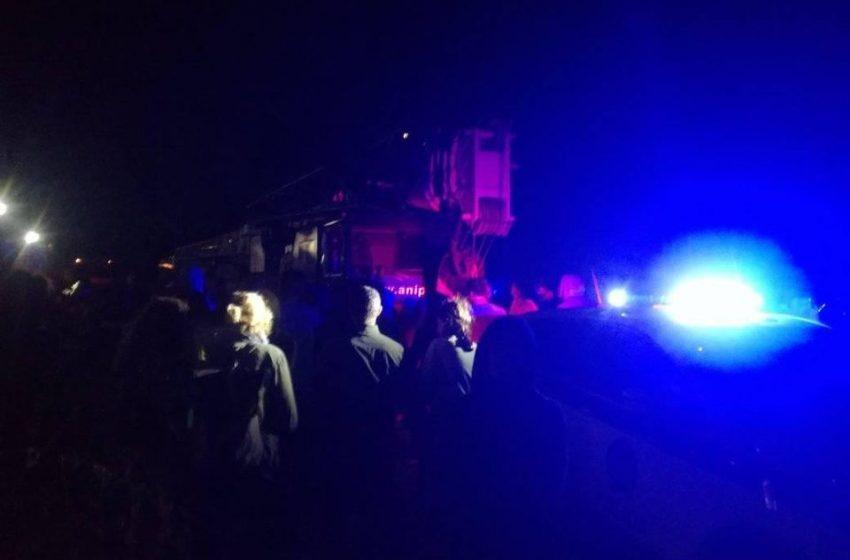 Τήνος: Άγρια αστυνομική καταστολή και βία κατά των κατοίκων για τις ανεμογεννήτριες