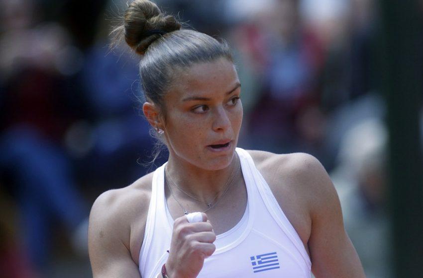 Σάκκαρη – Μαρτίντσοβα 2-0: Ημιτελικός στο Ostrava Open για την Σάκκαρη