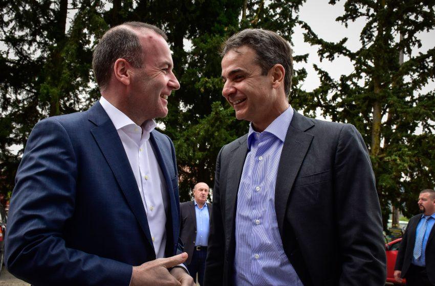 Μητσοτάκης – Στηρίζει την υποψηφιότητα Βέμπερ για την προεδρία του ΕΛΚ